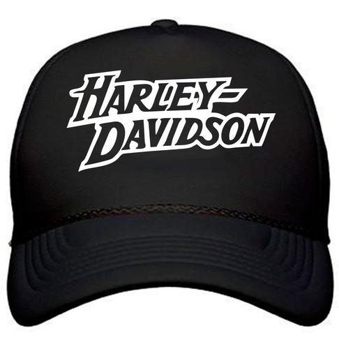 combo campera + remera + gorra harley davidson motorcycles