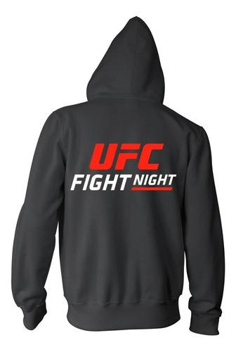combo campera +  remera + gorra - ufc fight night