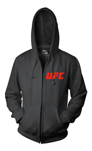 combo campera + remera + gorra - ufc ultimate fighting