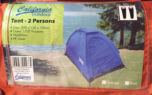 combo camping 1 persona + sleeping + colchon inflable intex