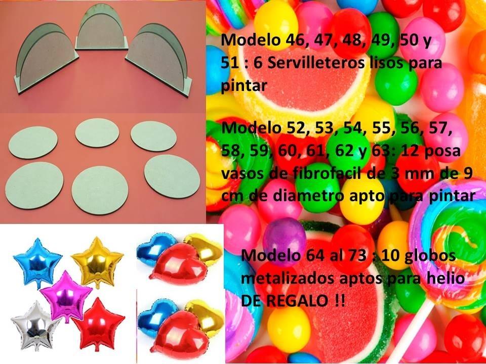 Combo Candy Bar 73 X Productos Fibrofacil Gigante