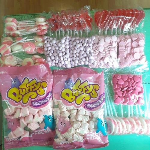 combo candy bar | golosinas por color | ideal mesa dulce