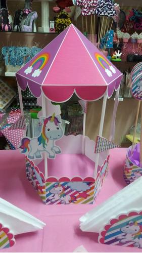 combo  candy bar unicornio