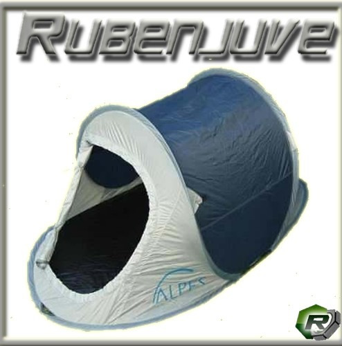 combo carpa autoarmable pop up 2 p + 2 bolsas de dormir!