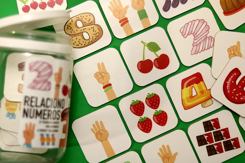 combo cartas y  2 juegos de madera matemáticas