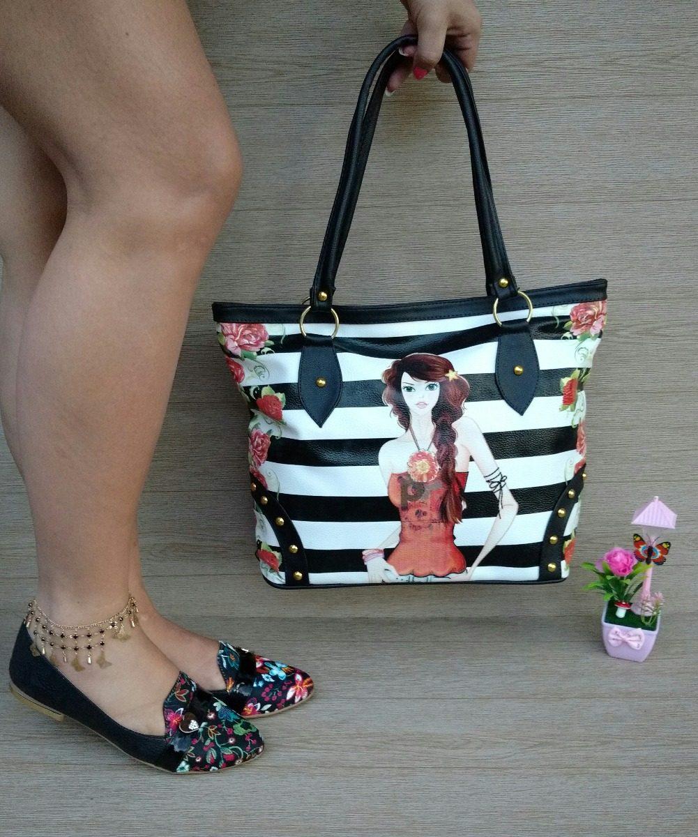 d746552df1a combo cartera amplia + zapato baleta negra de moda colombia. Cargando zoom.