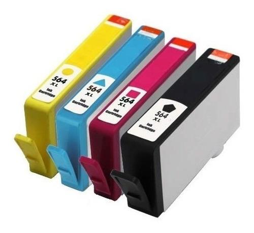 combo cartucho 564 xl 4 colores alternativo cmyk b210a