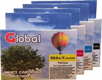 combo cartucho alternativo 564 xl 4 colores cmyk b210a