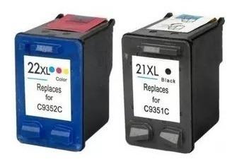 combo cartucho alternativos para 21xl negro + 22xl color