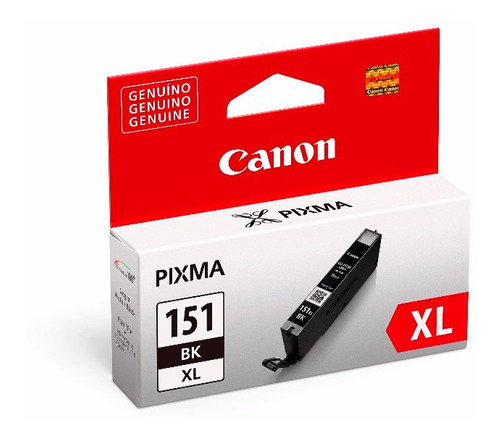 combo cartucho canon 151xl negro + color pixma ip7210 ix6810