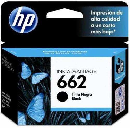 combo cartucho hp 662 negro + color original 1515 2515 3515