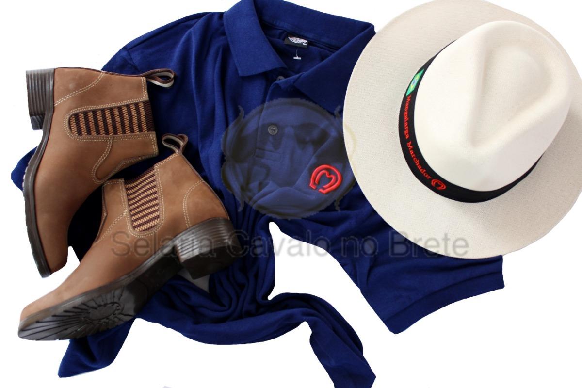 combo cavalgada para mulher camisa bota e chapéu mangalarga. Carregando zoom . 20762bac238