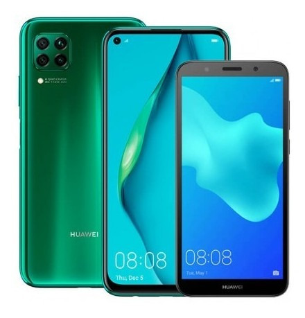 combo celular huawei p40 lite 128gb verde (crush green mk333