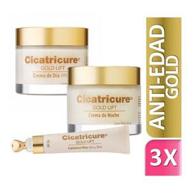 Combo Cicatricure Gold Lift Crema De Dia + Noche + Ojos