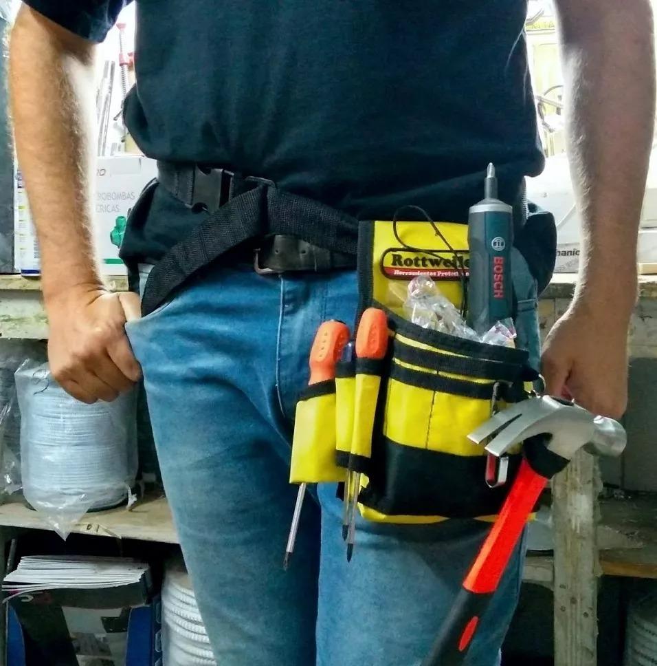 combo cinturon tipo cartuchera porta herramientas 3 unidades. Cargando zoom. f84a387d4af5