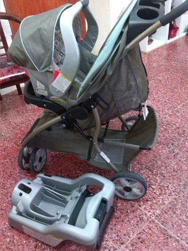 combo coche y porta bebé graco remate oferta