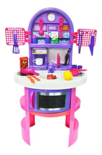 combo cocina cocinita tocador infantil set belleza new plast