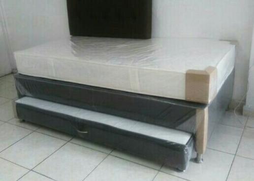 combo colchon base cama y obsequio 100x190 nuevos economico