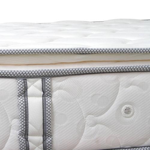 combo colchón cupido pillow blue 2x2+basecama dividida