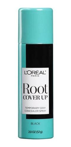 combo com 2 unid - spray loreal paris cover up preto 57g