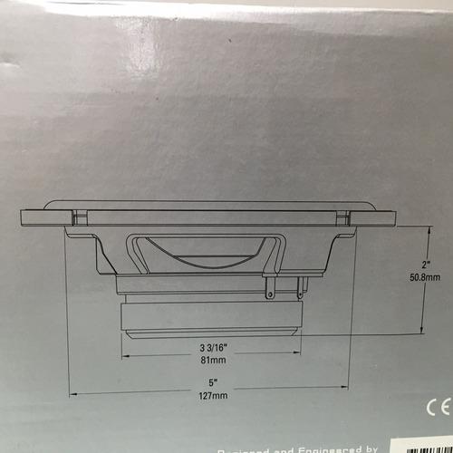 combo componente 6.5 6 1/2 polkaudio db6501 marino
