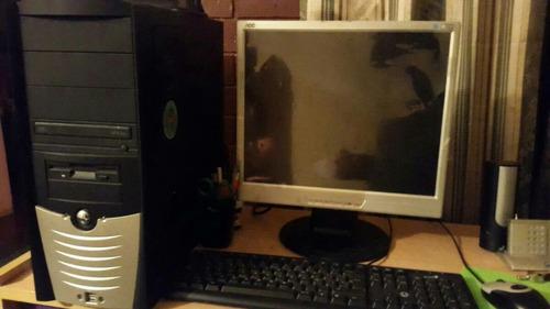 combo computadora, monitor 17p