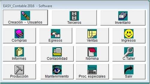 combo contabilidad facturacion n.i.i.f  + software web