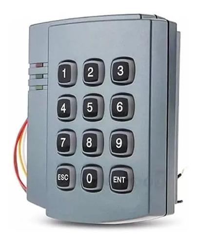 combo control de acceso autónomo 1 puerta con llaveros rfid