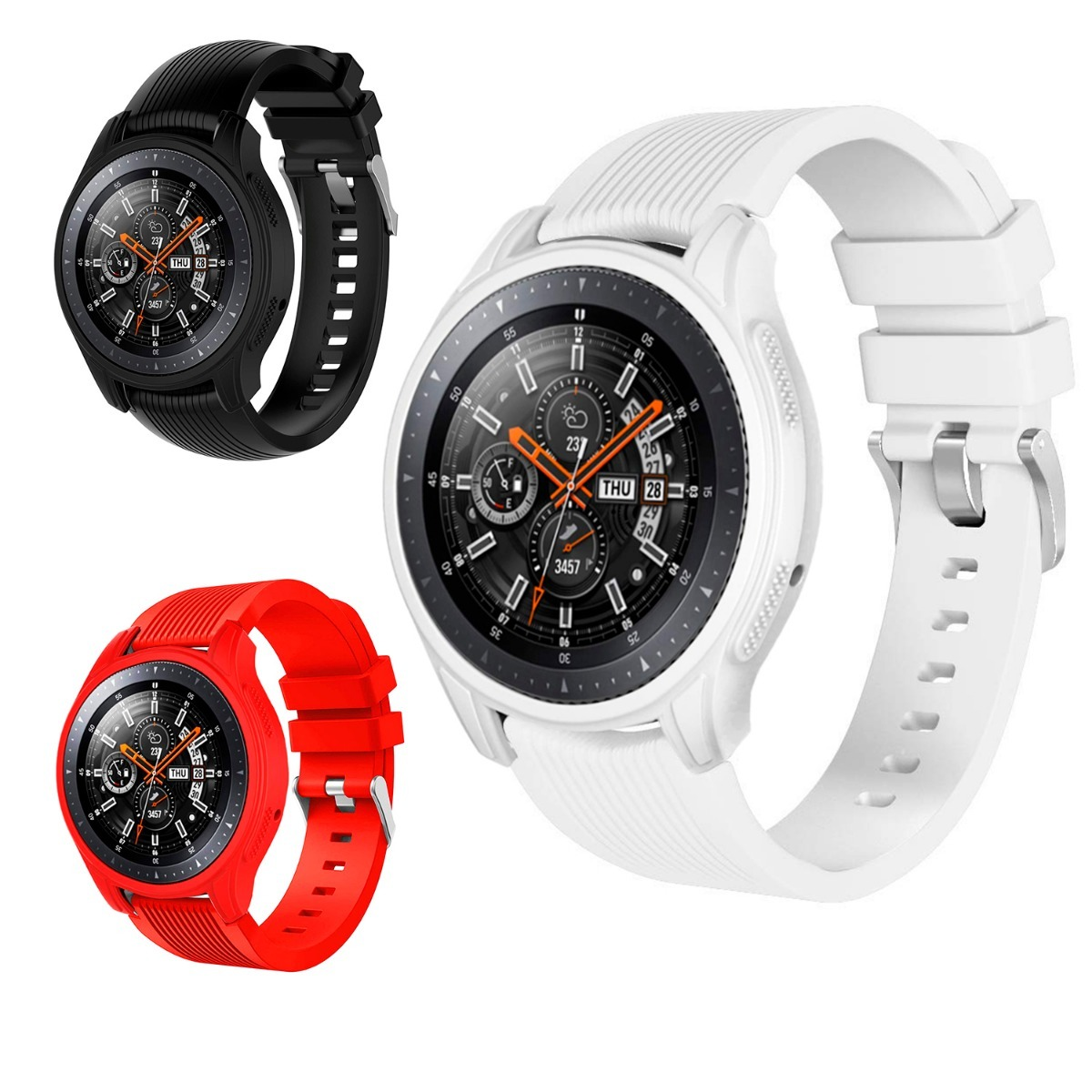 1875ff1ce77 combo correa premium para galaxy watch 46 mm + case + mica. Cargando zoom.