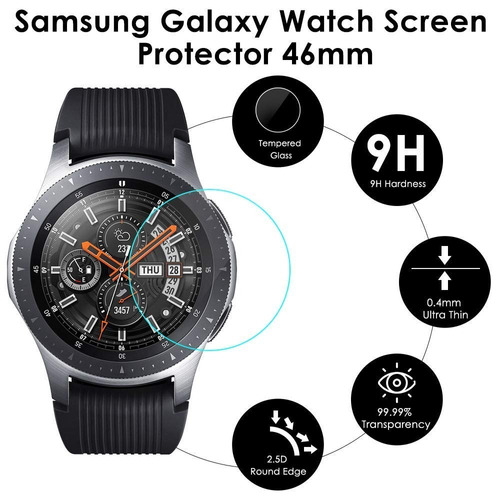 76ea909a2e9 Combo Correa Premium Para Galaxy Watch 46 Mm + Case + Mica ...