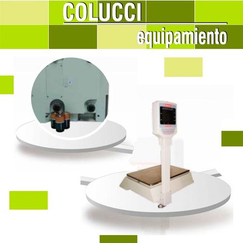combo cortadora de fiambres moretti + balanza market 30 kg