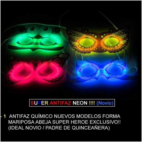 combo cotillon luminoso super neon 230 artículos 110 persona