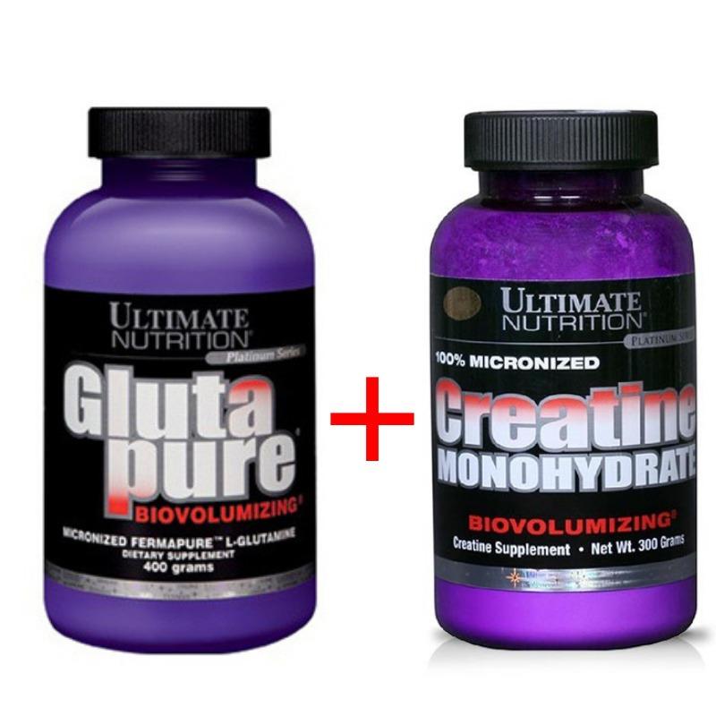 06f69ba51 combo! creatina + glutamina glutapure ultimate nutrition usa. Cargando zoom.