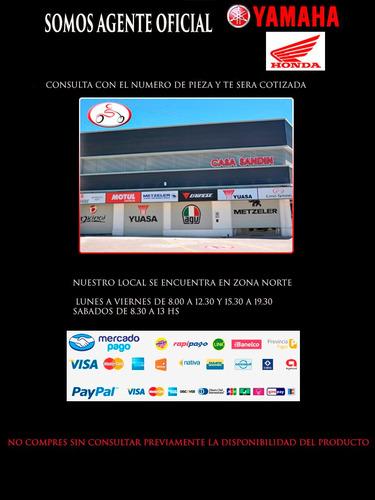 combo cubiertas pirelli diablo rosso 2 130/70-17 y 100/80-17