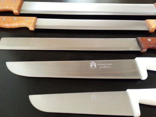 combo cuchillos queseros y charcuteros multiusos 5 piezas