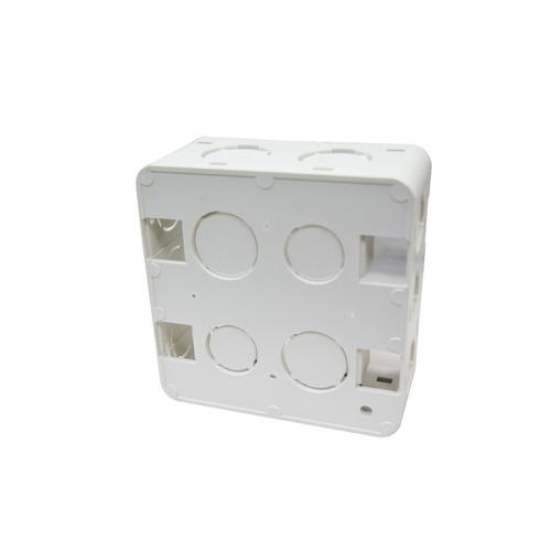 combo de 10 unidades cajetin de embutir 4x4 vimar block