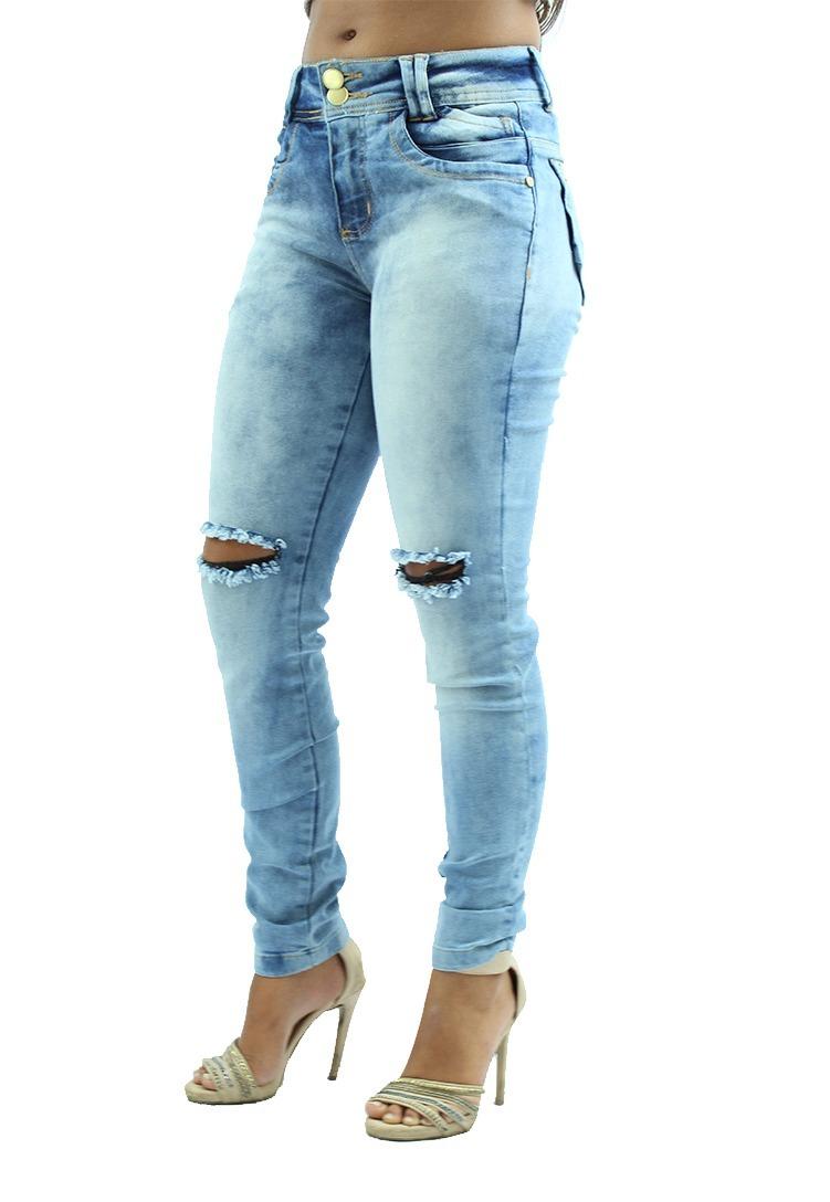 281cd858d Combo De 2 Bermudas Feminina Jeans E 2 Calças Feminina+frete - R ...