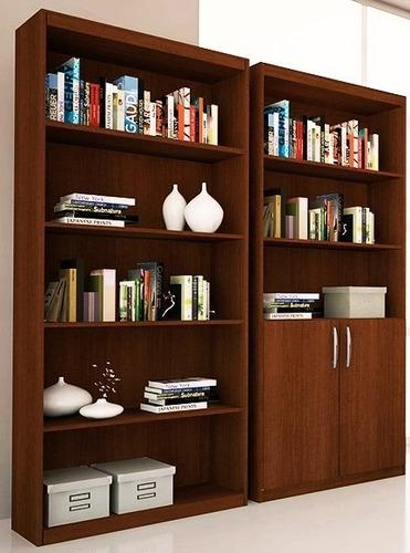 combo de 2 biblioteca living escritorio oficina dormitorio