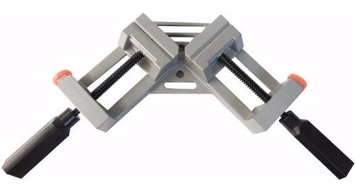 combo de 2 prensas esquinera uso rudo 65mm carpinteria marco