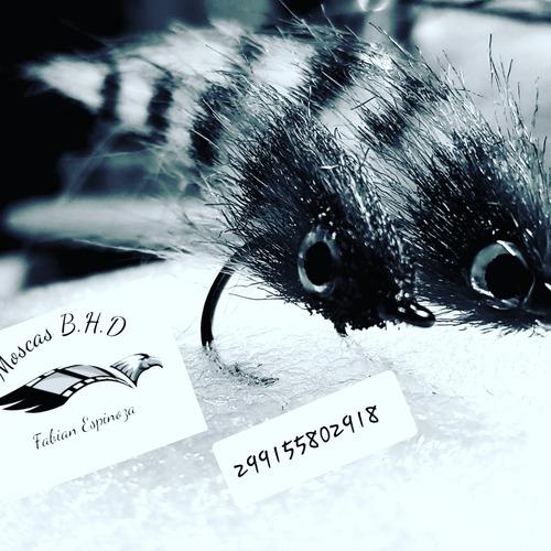combo de 24 moscas secas
