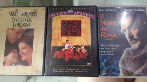 combo de 3 dvds clássicos
