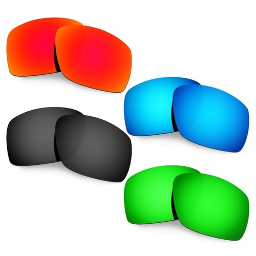 combo de 4 pares de lentes p/ oakley sliver f todas as cores