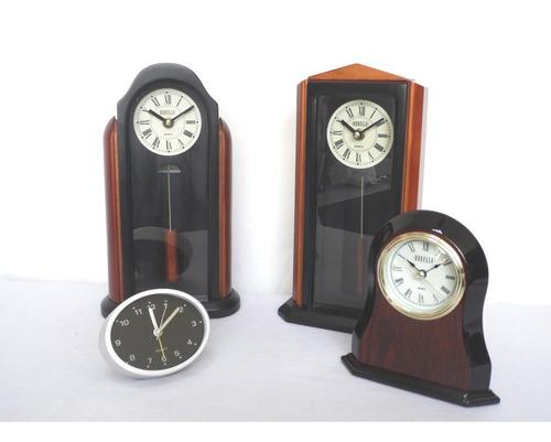 combo de 4 reloj de mesa y escritorio envio gratis