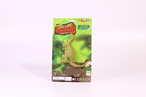 combo de 7 dinosaurios strechy animals estirables my nature