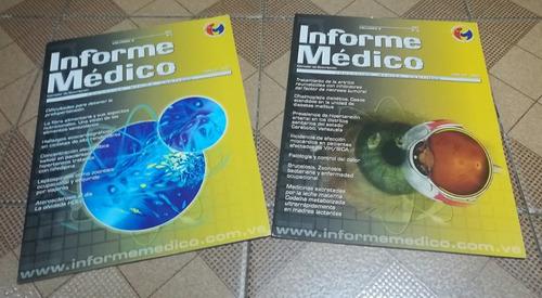 combo de 7 revistas informe médico
