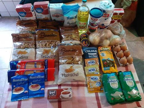 combo de alimentos y limpieza p/ el hogar
