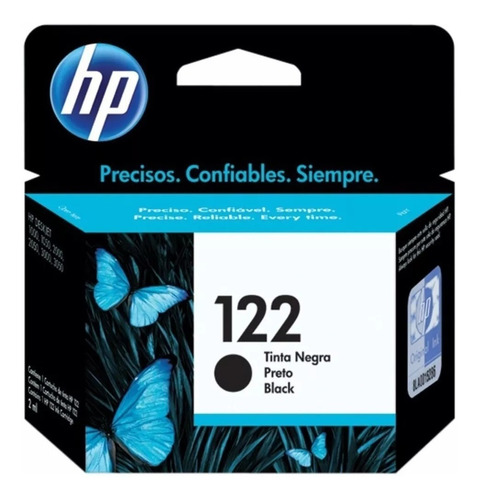 combo de cartucho hp 122-negro + cartucho hp 122-tricolor