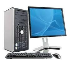 combo de computadora core 2 duo dell optiplex 780