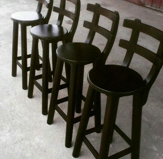 Combo de cuatro sillas para barra bs en for Sillas para barra precios