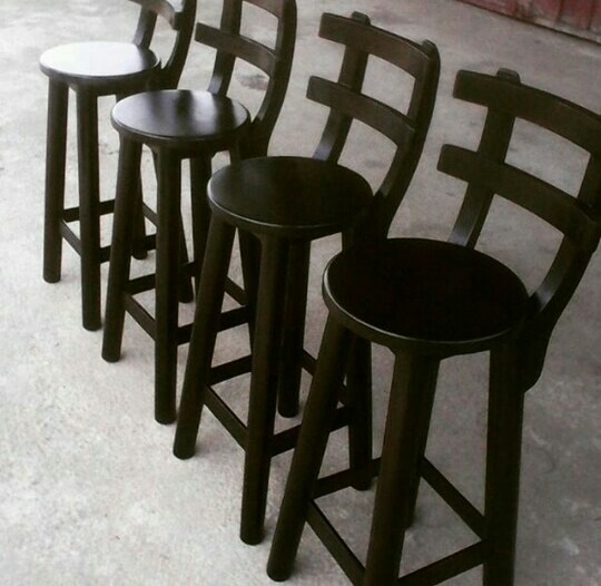 Combo de cuatro sillas para barra bs en for Sillas altas para barra